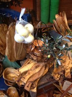 Stilvolle Produkte aus Olivenholz