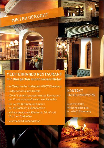 Mediterranes Restaurant im myCITYHOTEL